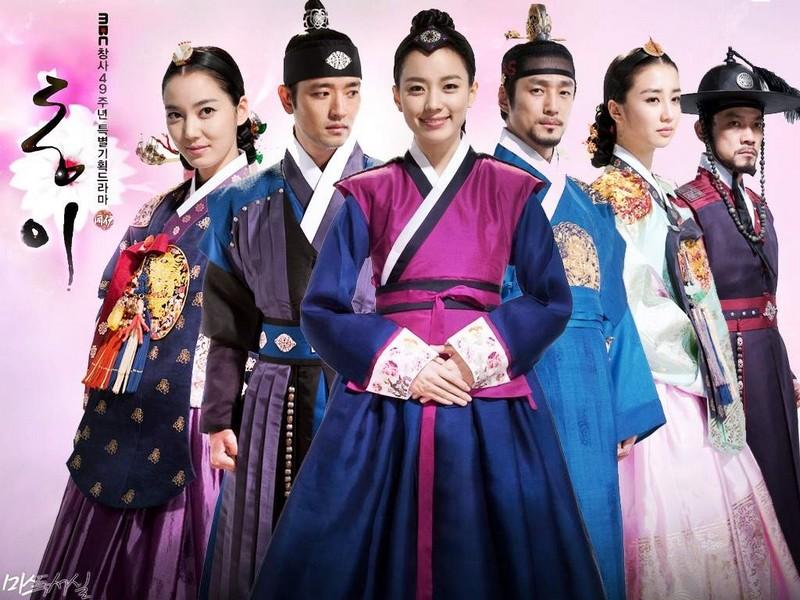 عکس بازیگران سریال دونگ یی